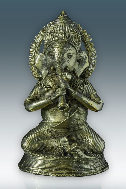 Sitting Ganesh Musician ( GD001 B )   For more details visit http://www.gitanjaliawards.com/User/View_Individual_Product1.aspx?P_Id=667