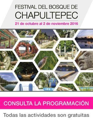 Invita Gobierno CDMX a 13a edición del Festival del Bosque de Chapultepec