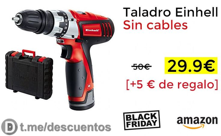 Taladro Einhell Sin cables disponible por solo 2990 - http://ift.tt/2i0pOiH