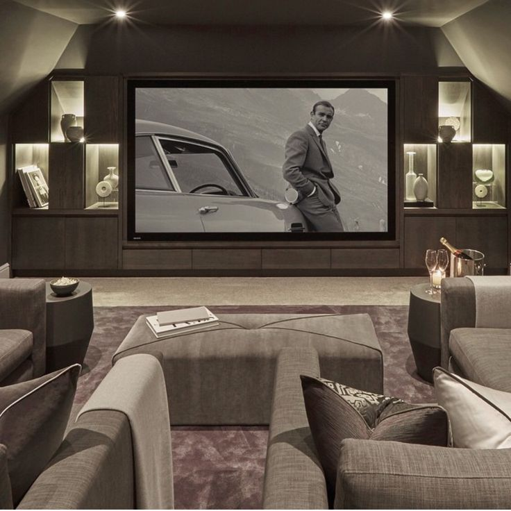 241 best Home Theater Room images on Pinterest Architecture