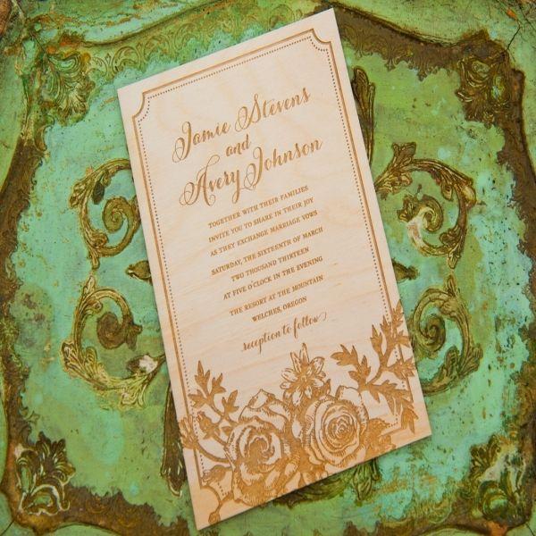 Nice 9 Wedding Invitations Portland Oregon