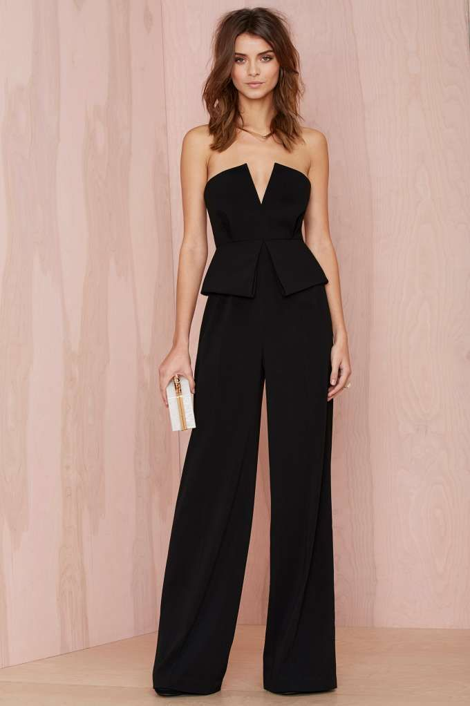 Peplum Jumpsuit - awesome alternative to the LBD