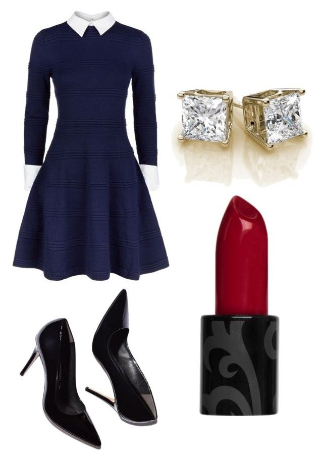"""Untitled #46"" by bestari09 on Polyvore featuring Alice + Olivia"