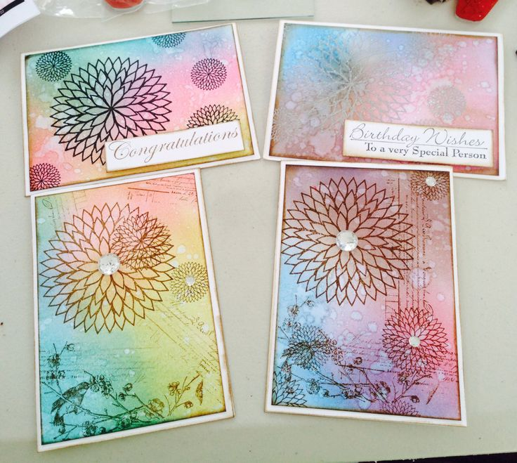 Four card set. Designed by Lissa bannister independent Kaszazz consultant 106546