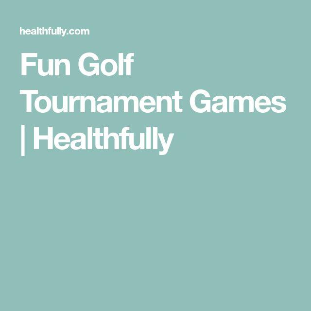 Fun Golf Tournament Games | Healthfully