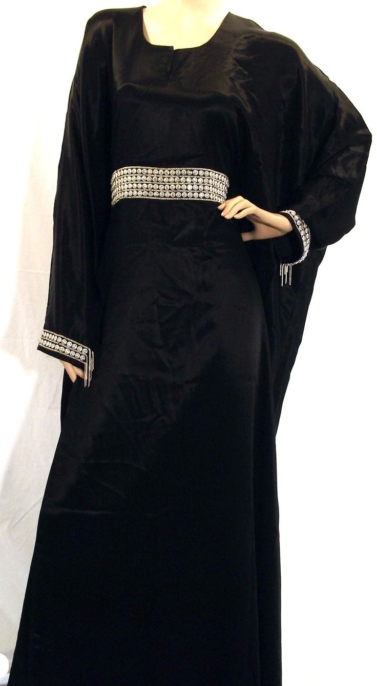 Gorgeous  design of butterfly abaya with belt (13)