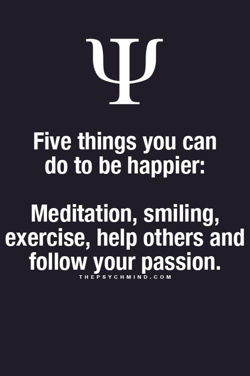 Happy things. For the meditation: meditating about God's promises...