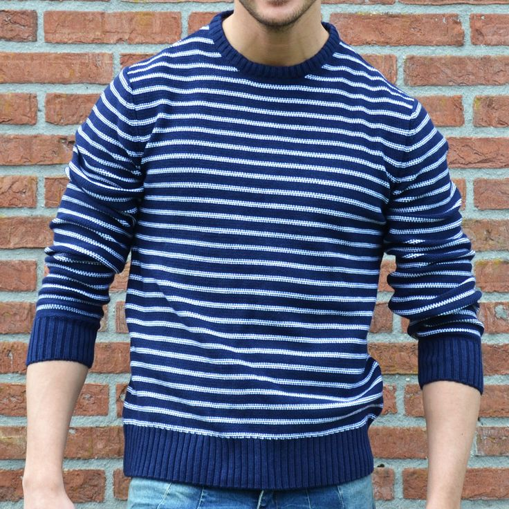 Sweater striped  €19,99 http://mymenfashion.com/sweater-striped.html