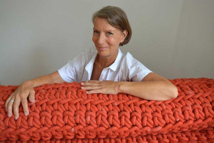 The Stuttgart based #designer Monika Brückner talks about her #brand MONKA and its #handmade #homeaccessories.