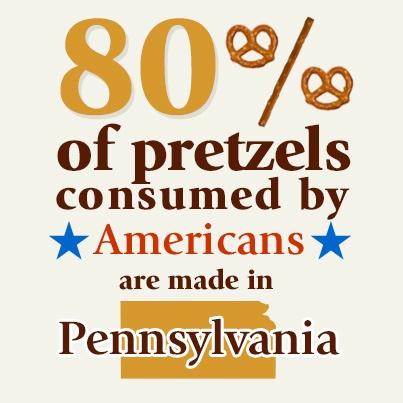 video fans enjoy national pretzel