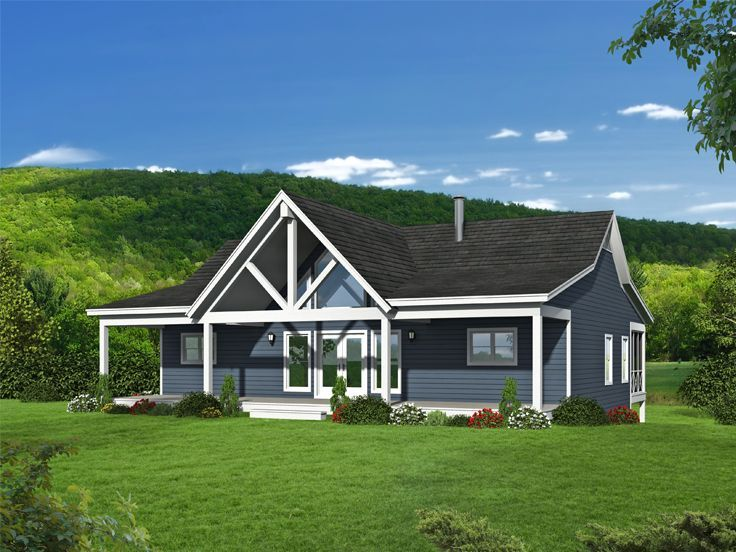Pin By The House Plan Shop On Mountain River House Mountain House Plans Ranch House Plan House Plans