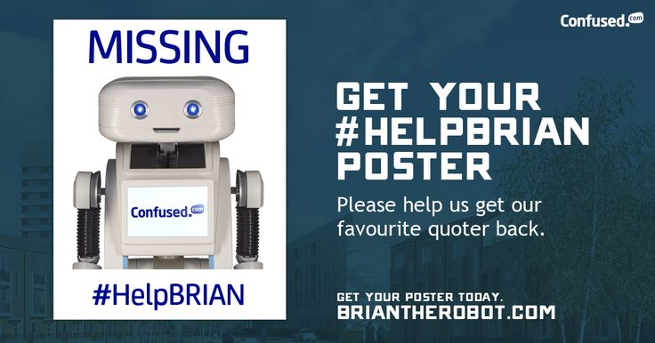 Have you seen @BRIANtheRobot? Help us find him! #HelpBRIAN cnfsd.co/helpBRIAN