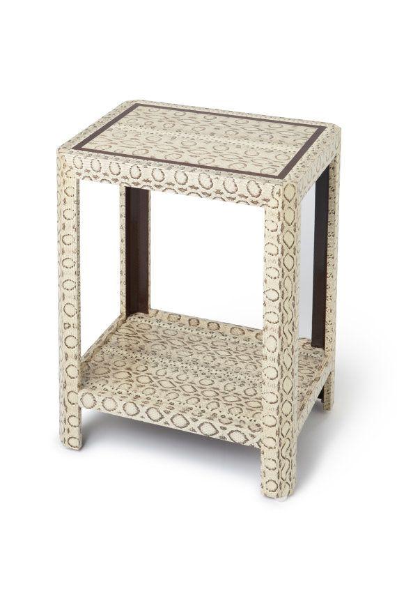 Karl Springer Design Inspired Table Custom by TimelessAccessories