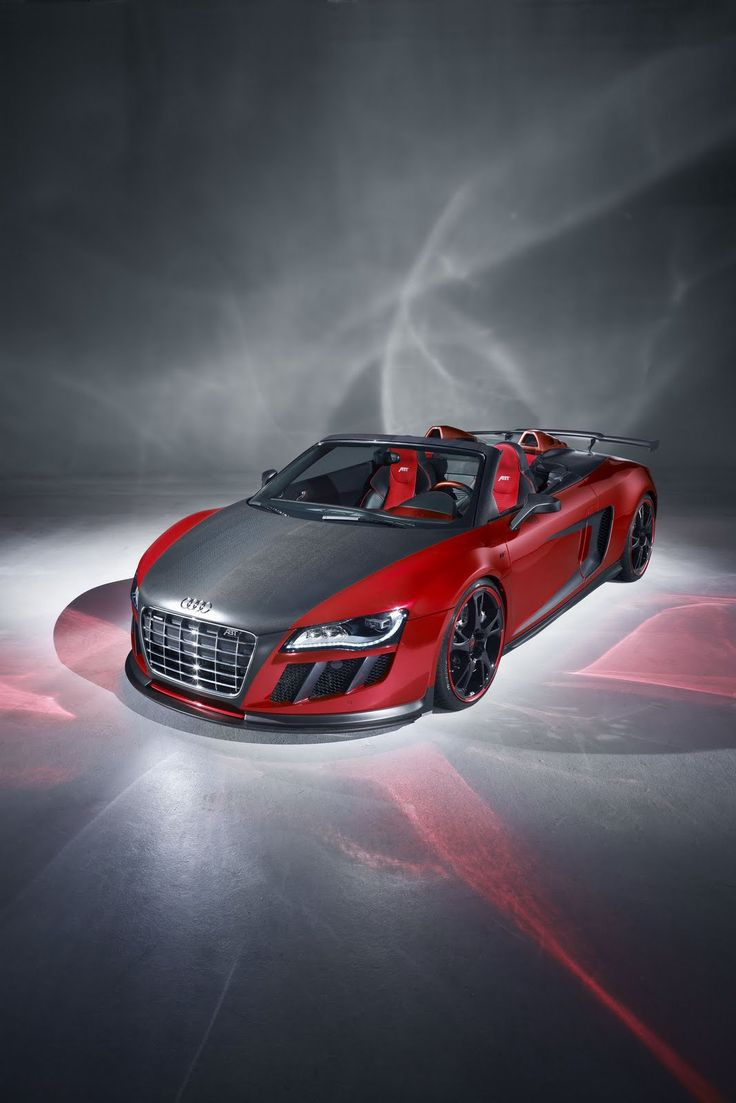 Audi R8 V10 Spider GT5 ABT. Okay so this is nothing like my car but if I can't fix the hood damage maybe I'll make it matte black. It looks cool here...I'm sure the Neon could rock it too.
