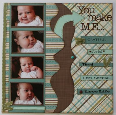 You Make Me: Designed by Susan  Paper: old MME from my paper stash.  DT Templates used: Spook Alley 2A, Large Bracket 1, Playtime 3, Strips,