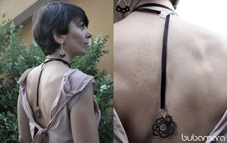 Appesa a un filo Necklace on Simona Zazzetta