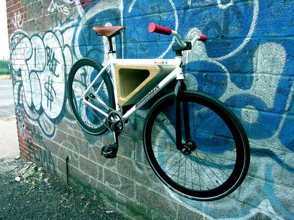 Handsome Two-Wheeler Hangers : Quarterre Furniture for Bikes