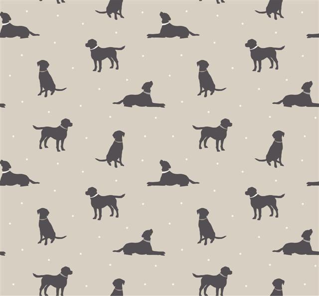 £8.25 a metre Clarke and Clark Rover Taupe fabric AH Naylor Textiles - Fabrics Northampton