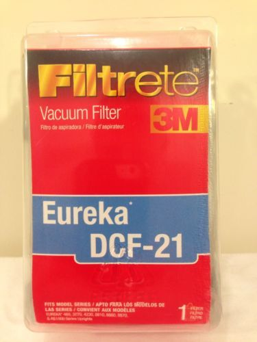 Eureka Vacuum DCF-21 Filter by Filtrete Odor Eliminating New In Box NIB