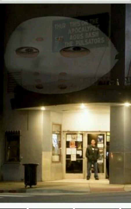 Way Cool picture of Halloween festivities at the Phoenix Theater in Petaluma...music...