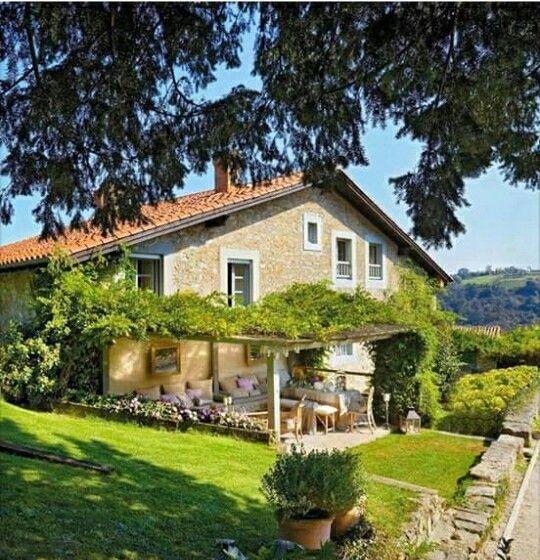 17 migliori idee su esterni di casa di campagna su pinterest case francesi case e case di - Esterni di case ...