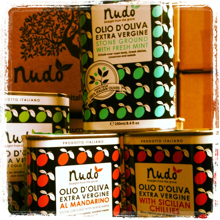 Nudo Olive Oil 'an Italian olive grove in a tin' - The It Kit