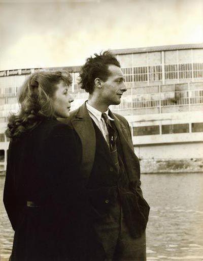 Simone de Beauvoir & Maurice Merleau-Ponty (1908-1961) in 1930. (Inspiration - Simon and Pru)