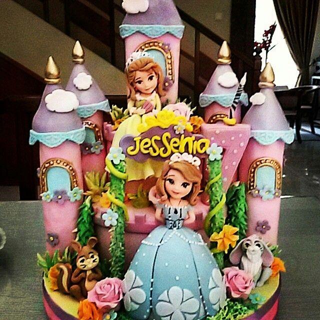 ... the first birthday cake from jessenia pandjang kuta bali 14.2.2015