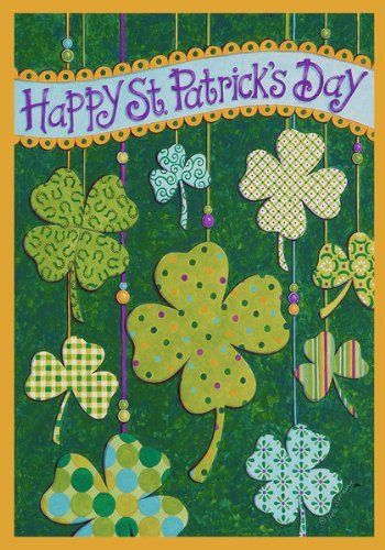 43 best images about st patrick day garden flag on for Custom decor inc