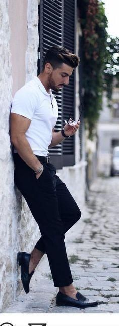 35 Trending Men's Street Styles On Pinterest  – Outfits – #Mens #Outfits #Pinter…