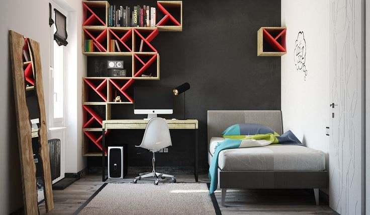 Super-Colorful Bedroom Ideas for Kids and Teens