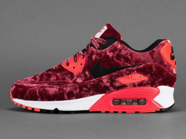 The 'Red Velvet' Nike Air Max 90 Lands Overseas Next Week