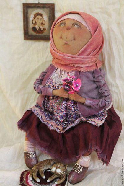 Коллекционные куклы ручной работы. Ярмарка Мастеров - ручная работа. Купить Баба Аня...Аннушка...Анютка.... Handmade. Комбинированный