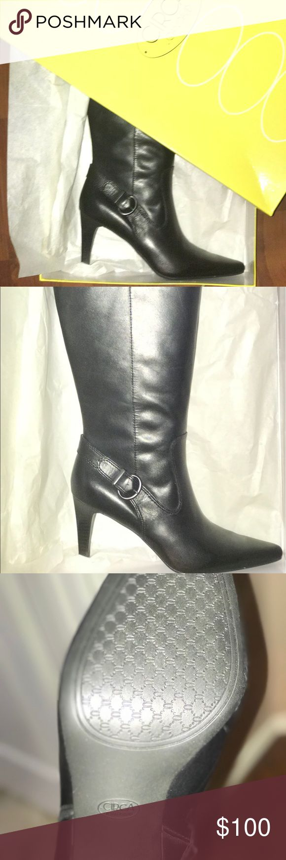Brand New Leather Joan&David Brand New Boots ! Women's Brand New Joan&David Boots , Good quality leather ! NEVER BEEN WORN Joan & David Shoes Heels