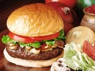 Latin Burgers with Caramelized Onion and Jalapeno Relish and Red Pepper Mayonnaise Recipe : Ingrid Hoffmann : Food Network