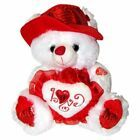 "Musical ""I Love You"" Teddy Bear with Red Hat (11″) Plays ""The Love Song"" – Bes….."
