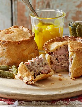 These proper British pork pies are the perfect recipe for a special picnic or a summer lunch and an easy pastry for those with 'hot hands'.