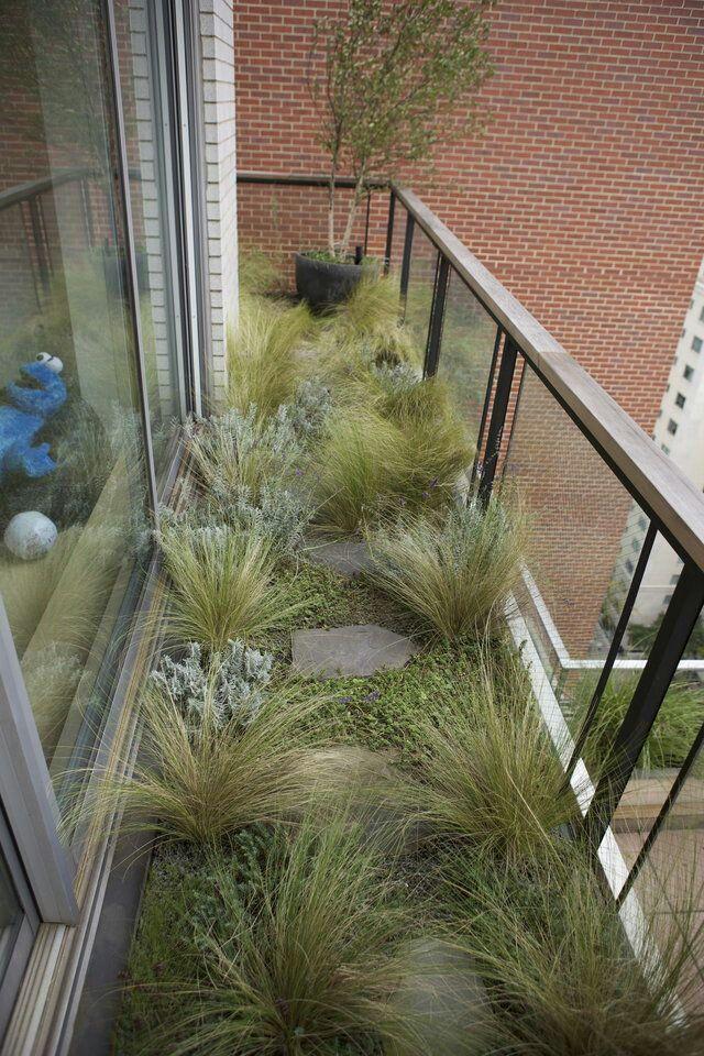 Balcón jardín