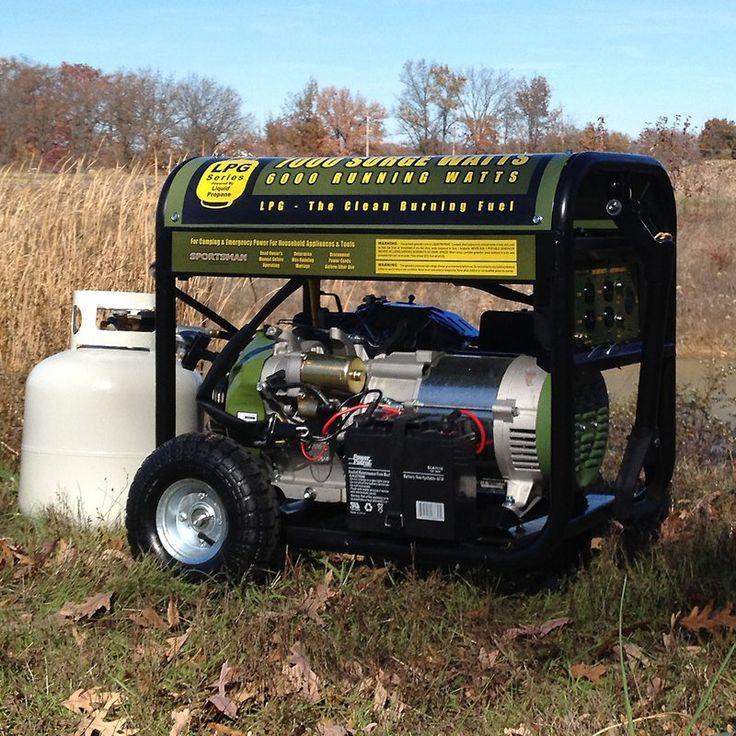 Sportsman 7,000 Watt Propane Generator - GEN7000LP