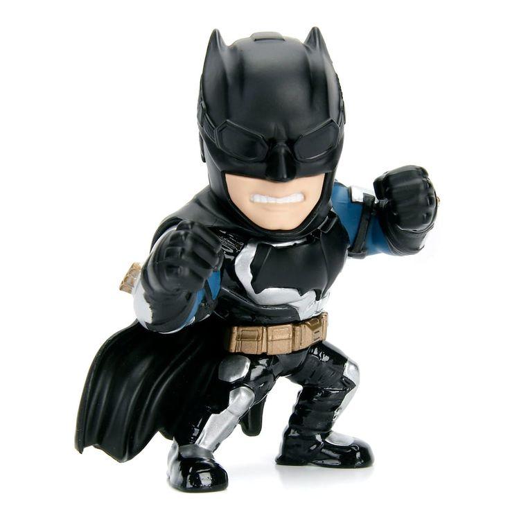 Metalfigs Justice League Tactical Suit Batman Figure, Multicolor