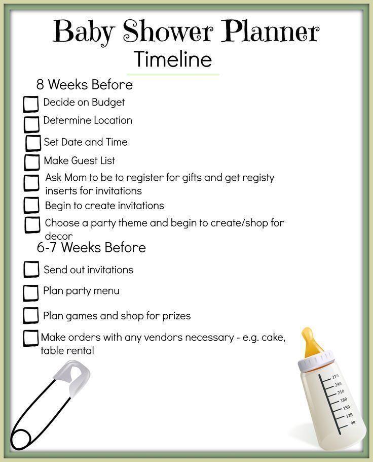Bridal Shower Timeline Weddingeventscard Weddingeventsdecoration Wedding Bridal Sho Baby Shower Program Baby Shower Planning Bridal Shower Timeline