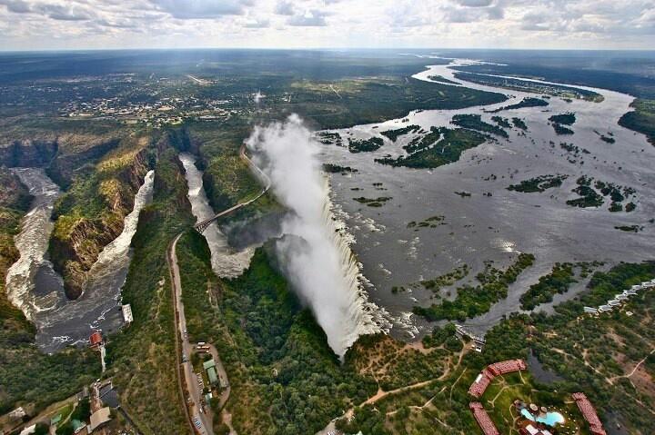 Victoria falls (Zimbabwe and Zambia)