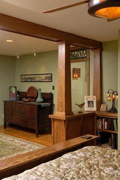 Stickley Arts and Crafts Bedroom - craftsman - Masterworks Window Fashions & Design