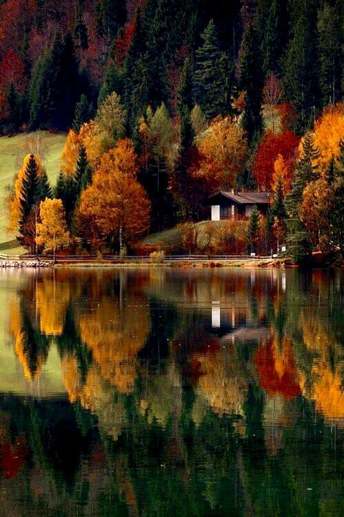 Autumn reflection More