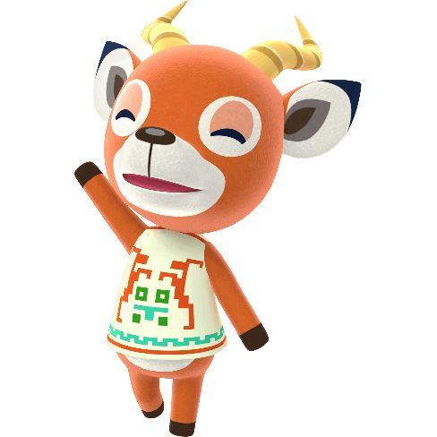 Pin by Elizabeth Miller on Animal Crossing in 2020 | Deer ...