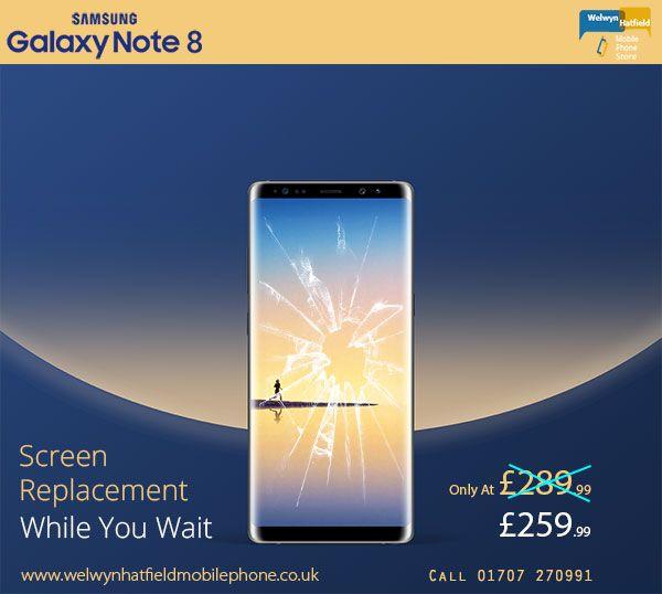 Galaxy Note 8 Screen Repair Samsung Galaxy Note 8 Galaxy Note 8