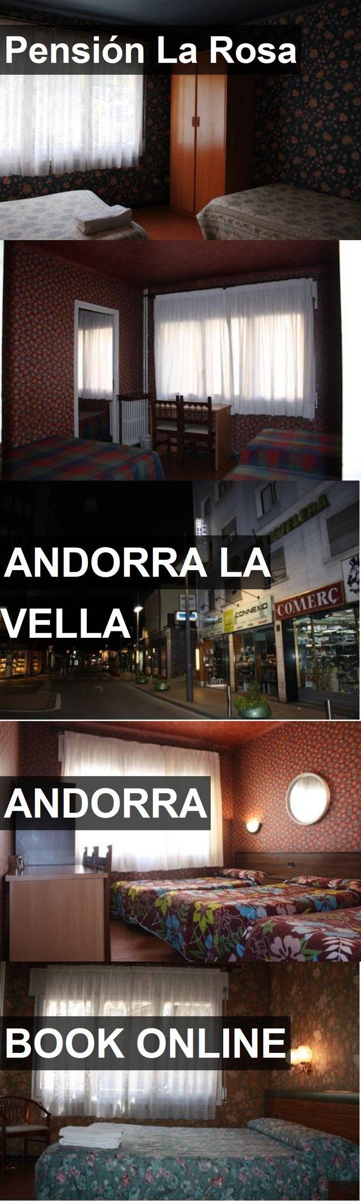 Hotel Pensión La Rosa in Andorra La Vella, Andorra. For more information, photos, reviews and best prices please follow the link. #Andorra #AndorraLaVella #PensiónLaRosa #hotel #travel #vacation