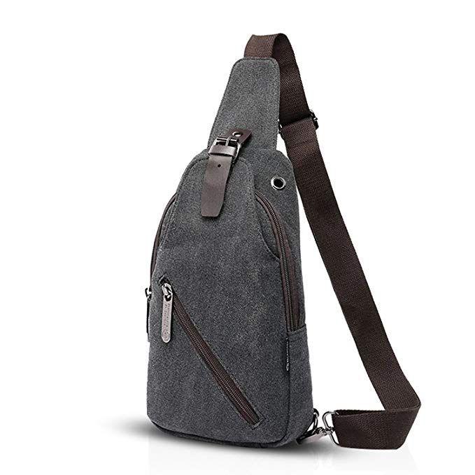 FANDARE Vintage Sling Bag Monospalla Zaino Spalla Borsa a
