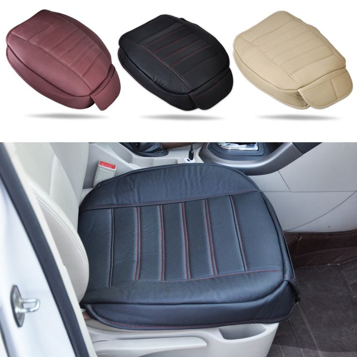 Universal PU leather Car Interior Front Seat Cover Seatpad For VW Polo Audi A4 A5 BMW 3 Mercedes Benz Mazda6  Honda Buick Toyota
