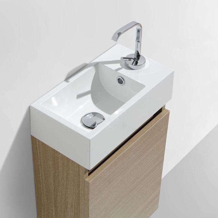 Dont €0.75 d'éco-participation.  Ensemble meuble de salle de bain suspendu au design moderne et minimaliste et aux lignes sobres et épurées. Cet ensemble lave